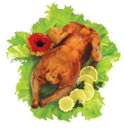 Копчёный цыпленок